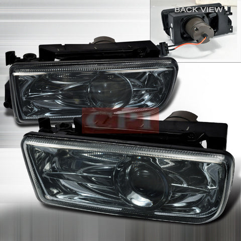 BMW 92-98 BMW E36 3-SERIES - SMOKE PROJECTOR FOGLIGHTS   1 SET RH & LH 1992,1993,1994,1995,1996,1997,1998