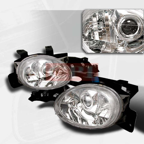 DODGE 1995-1999 DODGE NEON PROJECTOR HEAD LAMPS/ HEADLIGHTS LIGHTS - CC 1 SET RH&LH   1995,1996,1997,1998,1999