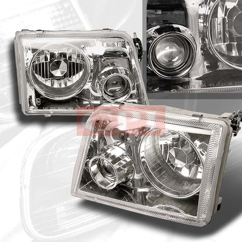 FORD 1993-1997 FORD RANGER PROJECTOR HEAD LAMPS/ HEADLIGHTS 1 SET RH&LH   1993,1994,1995,1996,1997