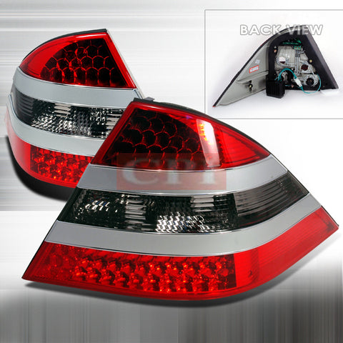 Mercedes Benz 1999-2004 Benz W220 S- Class Led Tail Lights /Lamps 1 Set Rh&Lh Performance 1999,2000,2001,2002,2003,2004-o
