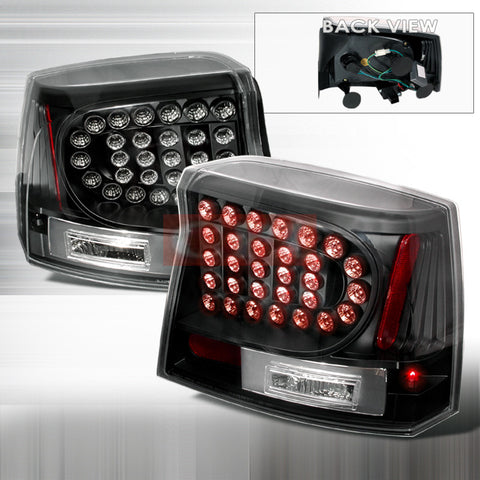 Dodge 2005-2007 Dodge Charger Led Tail Lights /Lamps 1 Set Rh&Lh Performance 2005,2006,2007-v