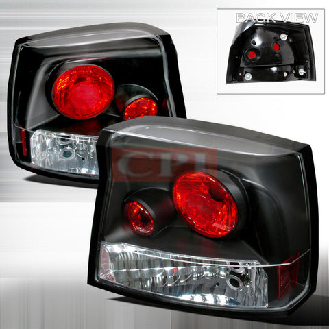 Dodge 2005-2007 Dodge Charger Altezza Tail Lights /Lamps-r