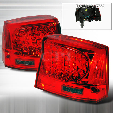 DODGE 2005-2007 DODGE CHARGER LED TAIL LIGHTS /LAMPS 1 SET RH&LH PERFORMANCE 2005,2006,2007