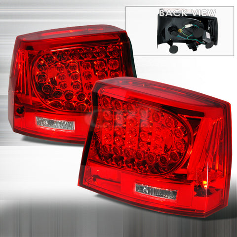 Dodge 2005-2007 Dodge Charger Led Tail Lights /Lamps 1 Set Rh&Lh Performance 2005,2006,2007-k