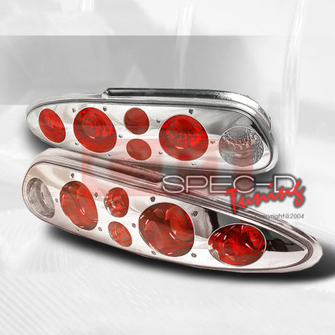 CHEVROLET 1993-2002 CHEVY CAMARO TAIL LIGHTS /LAMPS - CHROME 1 SET RH&LH  1993,1994,1995,1996,1997,1998,1999,2000,2001,2002