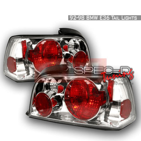 BMW 1992-1998 BMW E36 2DR 3-SERIES TAIL LIGHTS /LAMPS - EURO 1 SET RH&LH PERFORMANCE 1992,1993,1994,1995,1996,1997,1998