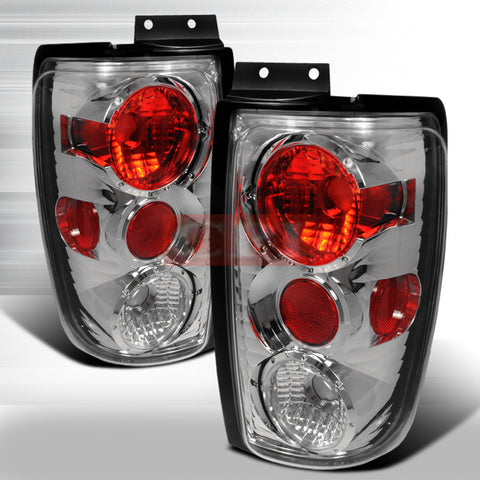 Ford 1997-2002 Ford Expedition Tail Lights /Lamps -Euro Style-y