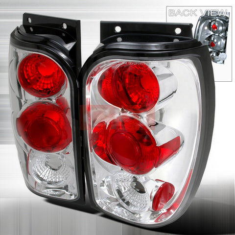 Ford 1998-2001 Ford Explorer Tail Lights /Lamps-Euro Style 1 Set Rh&Lh Performance 1998,1999,2000,2001-o