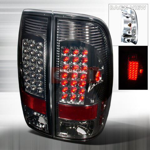 Ford 1997-2003 Ford F150 Styleside Led Tail Lights /Lamps-n
