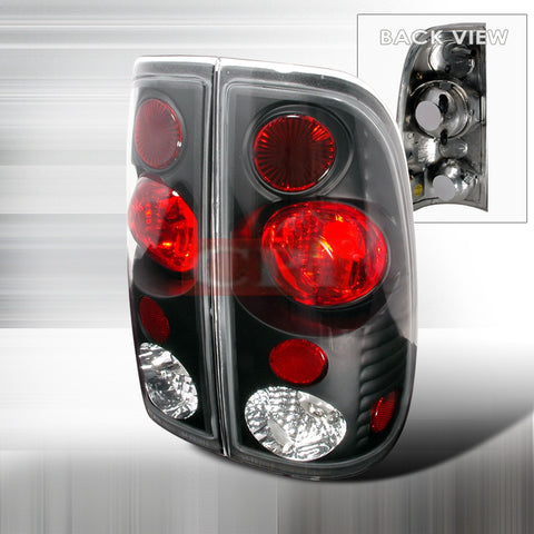 Ford 1997-2003 Ford F150 Tail Lights /Lamps - Version 2 Euro-y