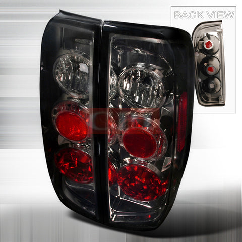 Nissan 2005-2008 Nissan Frontier Tail Lights /Lamps - Euro-r