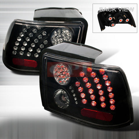 Ford 1999-2004 Ford Mustang Led Tail Lights /Lamps-q