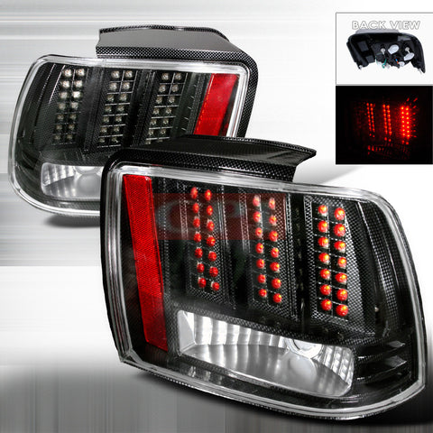 Ford 1999-2004 Ford Mustang Led Tail Lights /Lamps 1 Set Rh&Lh Performance 1999,2000,2001,2002,2003,2004-n