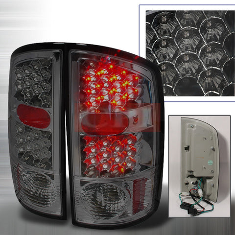 Dodge 2002-2003 Dodge Ram Pick Up Led Tail Lights /Lamps - Ks-n