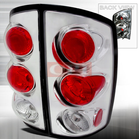 Dodge 2002-2005 Dodge Ram Pick Up Altezza Tail Lights /Lamps 1 Set Rh&Lh Performance 2002,2003,2004,2005-a