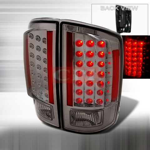 Dodge 2007-2008 Dodge Ram Pick Up Led Tail Lights /Lamps-u