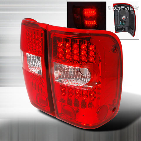Ford 2001-2004 Ford Ranger G2 Led Tail Lights /Lamps 1 Set Rh&Lh Performance 2001,2002,2003,2004-a