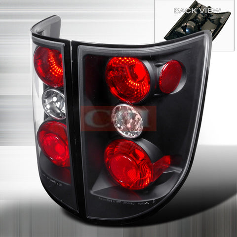 Honda 2005-2006 Honda Ridgeline Tail Lights /Lamps 2Pc Euro 1 Set Rh&Lh Performance 2005,2006-r