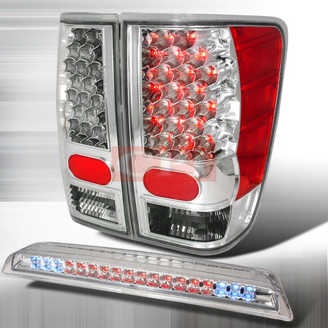 NISSAN 2004-2006 NISSAN TITAN LED TAIL LIGHTS /LAMPS COMBINATION 1 SET RH/LH PERFORMANCE 2004,2005,2006