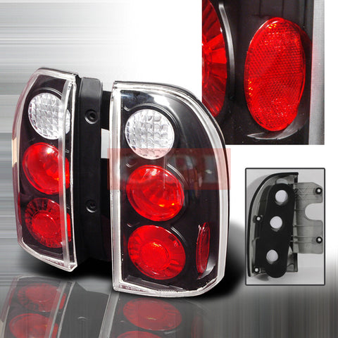 Suzuki 1999-2004 Suzuki Grand Vitara/Xl7 Tail Lights /Lamps Euro-j