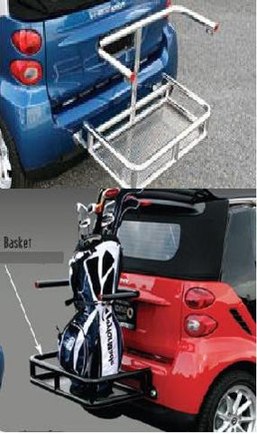 Smart Smart Car Top Support Bar Stainless Steel (For Back Basket) Cargo Accessories Stainless Products Performance