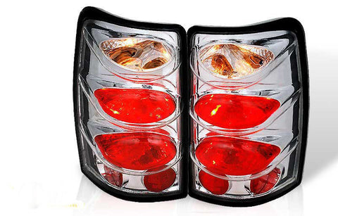 00-06 CHEVY SUBURBAN / TAHOE ALTEZZA TAIL LIGHT - CHROME / CLEAR(RG003-C) performance