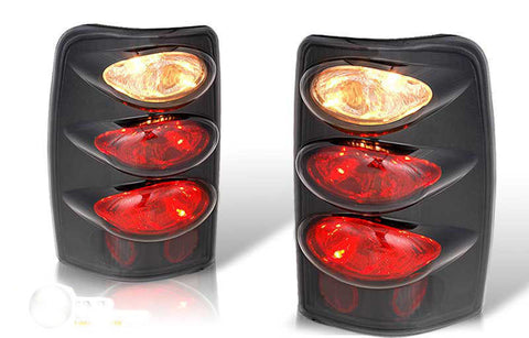 00-06 CHEVY SUBURBAN / TAHOE ALTEZZA TAIL LIGHT - BLACK / SMOKE(RG003-BLACK-S) performance
