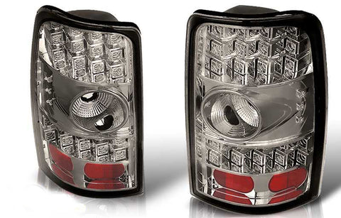 00-06 CHEVY TAHOE / SUBURBAN / YUKON LED TAIL LIGHT - CHROME/SMOKE performance