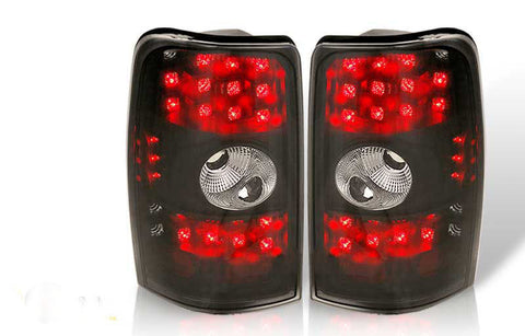 00-06 CHEVY TAHOE / SUBURBAN / YUKON LED TAIL LIGHT - BLACK / SMOKE performance