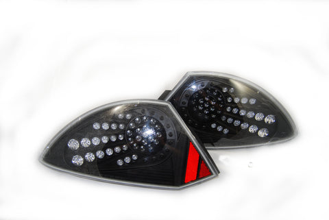 00-05 MITSUBISHI ECLIPSE LED TAIL LIGHT - BLACK/CLEAR performance