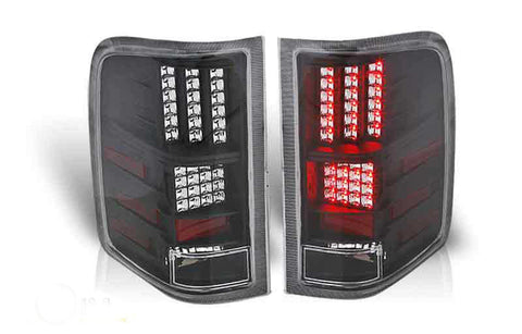 07-09 CHEVY SILVERADO LED TAIL LIGHT - BLACK / CLEAR performance
