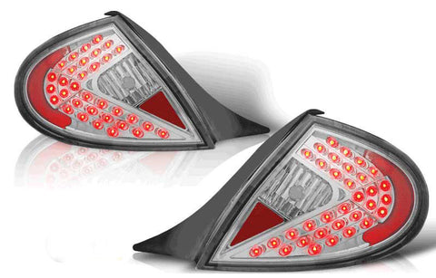 00-02 DODGE NEON LED TAIL LIGHT - CHROME/SMOKE performance
