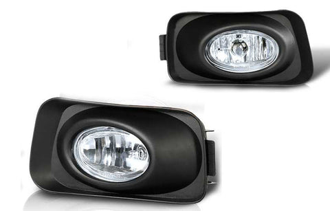 03-06 acura tsx oem style fog light - clear (wiring kit included) performance