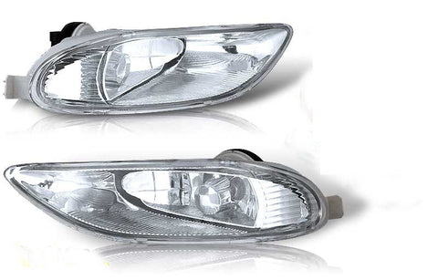 02-04 toyota camry / 05-06 corolla oem style fog light - clear (wiring kit included) performance