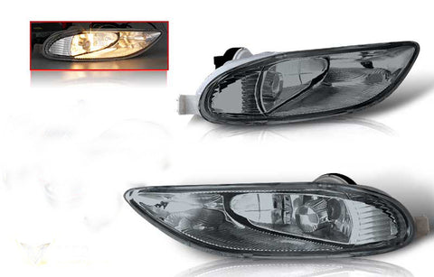 02-04 toyota camry / 05-06 corolla oem style fog light - smoke(wiring kit included) performance