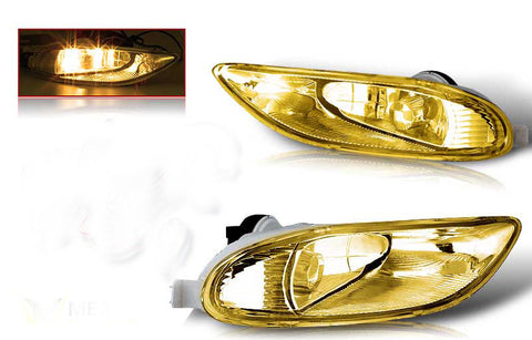 02-04 toyota camry / 05-06 corolla oem style fog light - yellow(wiring kit included) performance