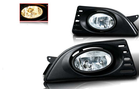 05-07 acura rsx oem style fog light - clear (wiring kit included) performance