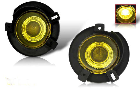 02-05 ford explorer halo projector fog light (yellow) performance