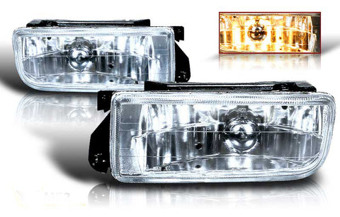 92-98 bmw e36 oem style fog light (clear) performance