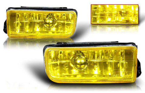 92-98 bmw e36 oem style fog light (yellow) performance