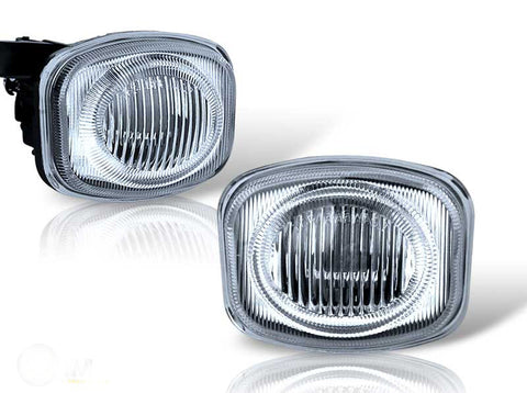 00-02 mitsubishi eclipse oem style fog light (clear) performance