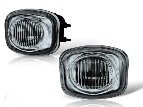 00-02 mitsubishi eclipse oem style fog light (smoke) performance