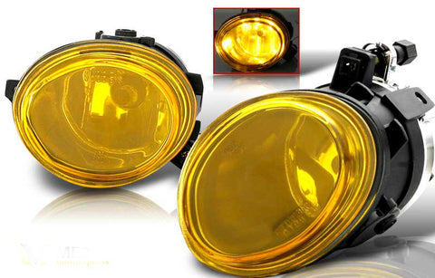 01-05 bmw e46 oem style fog light (yellow) performance