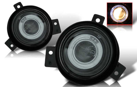 01-05 ford ranger halo projector fog light (smoke) performance