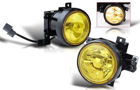 03-04 honda element oem style fog light - yellow (wiring kit included) performance
