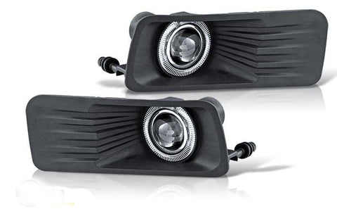 06-08 ford explorer halo projector fog light - clear performance