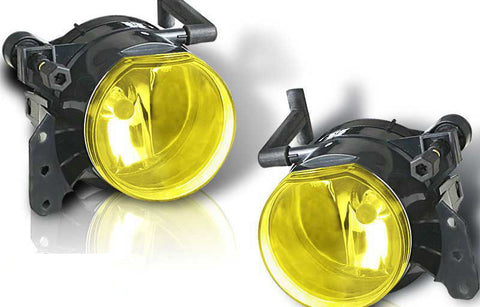 04-08 bmw e60 5 series oem style fog light - yellow performance