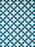 160cm x 230cm / Deep Aqua Empire Handtufted Rug, in Multiple Sizes & Colours only at Complete Pad | furniture store Australia  - 1
