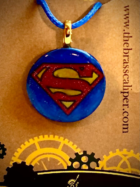 Superman Inspired Pendant