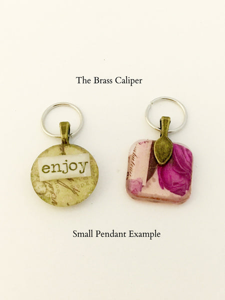"(1) SMALL PENDANT ""Words to Live By"" Project - 1 for $15"